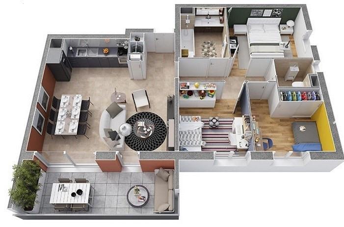 Sale apartment Annemasse 255400€ - Picture 3