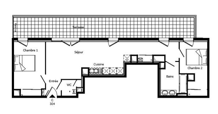 Vente appartement Challans 163000€ - Photo 2