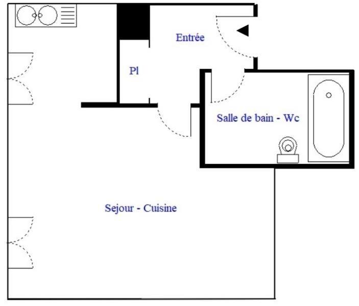 Revenda apartamento Paris 18ème 300000€ - Fotografia 3