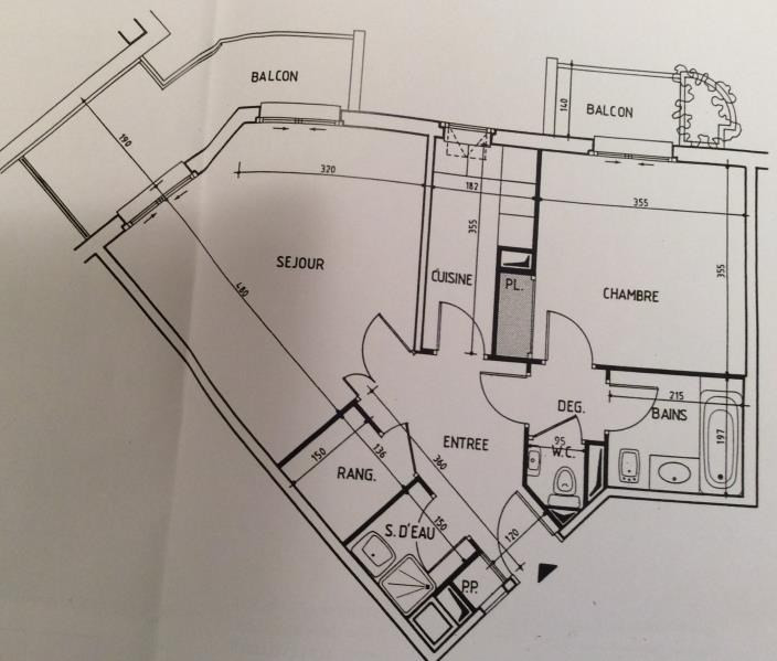 Revenda apartamento Levallois perret 300000€ - Fotografia 2
