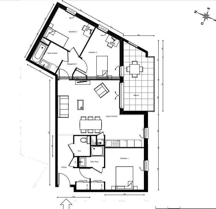 Vente appartement Lyon 5ème 419700€ - Photo 2