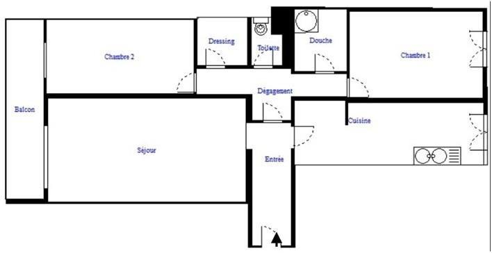 Vendita appartamento Paris 18ème 649000€ - Fotografia 8