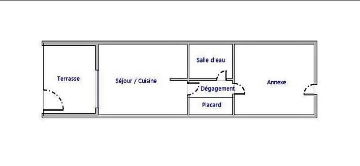Vente appartement Le cap d'agde 123000€ - Photo 5