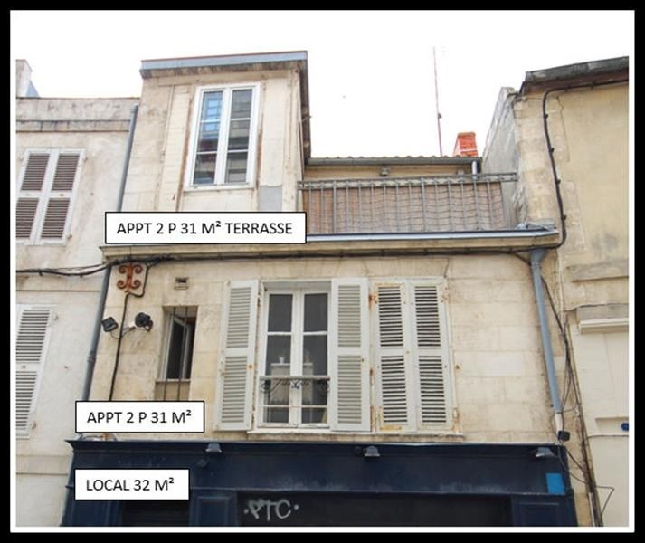 Sale building La rochelle 420 000€ - Picture 1