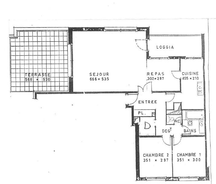 Vente appartement Le plessis robinson 613000€ - Photo 8