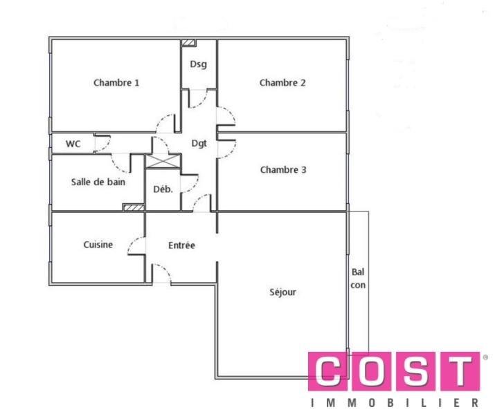 Sale apartment Asnières sur seine 800000€ - Picture 1