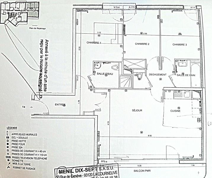 Sale apartment Asnieres sur seine 693000€ - Picture 1