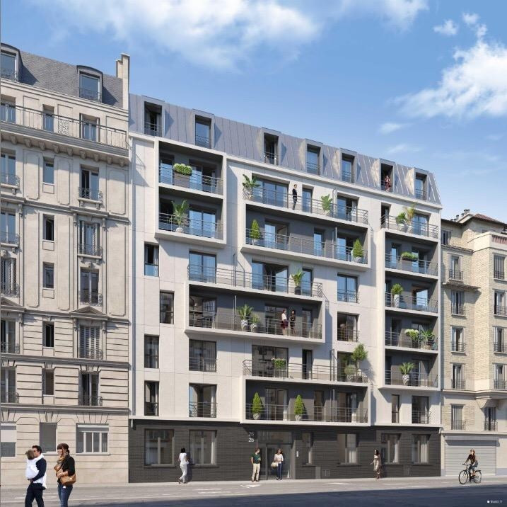 Vendita nuove costruzione Paris 18ème  - Fotografia 1
