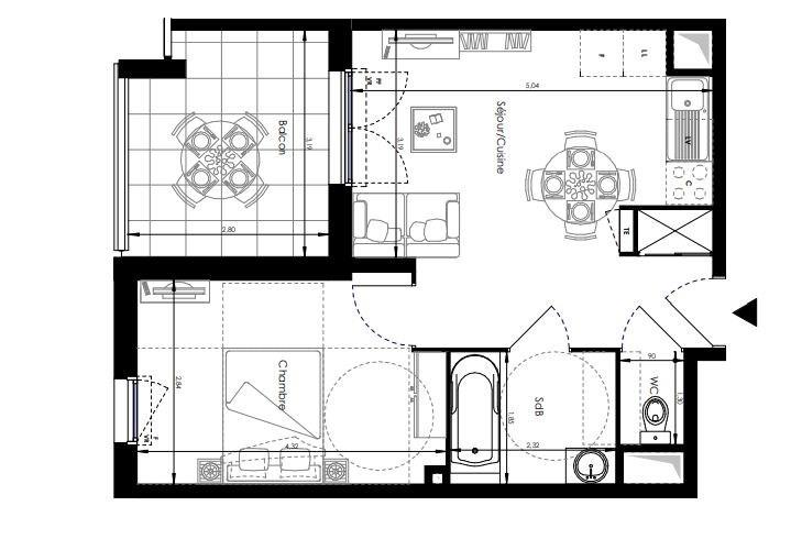 Vente appartement La londe les maures 202000€ - Photo 2