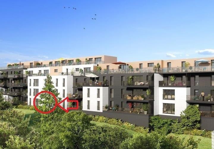 Vente appartement Nantes 251000€ - Photo 1