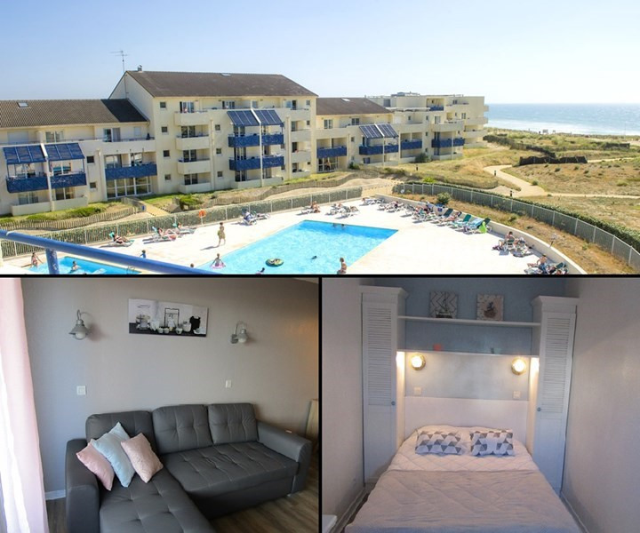 Vacation rental apartment Lacanau ocean 327€ - Picture 1