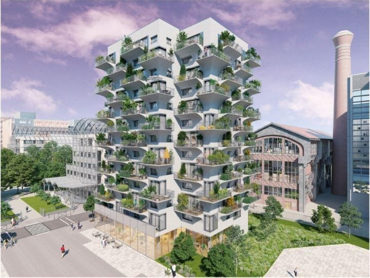 Verkoop  appartement Paris 13ème 493500€ - Foto 1