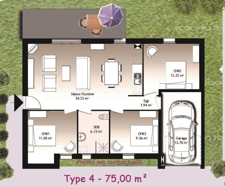 Sale house / villa Romilly sur seine 120000€ - Picture 3