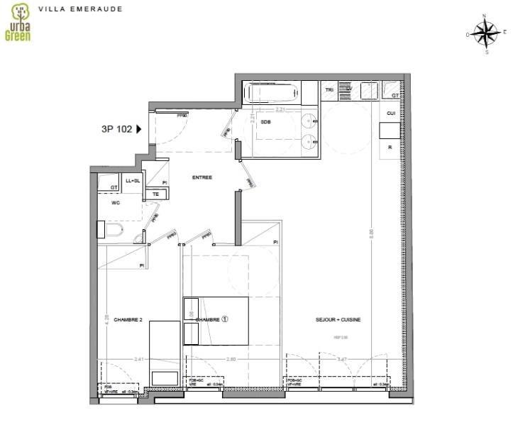 出售 公寓 Dinard 360000€ - 照片 3