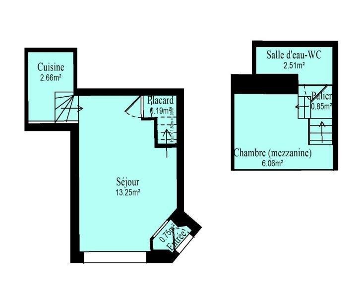 Location appartement Vanves 960€ CC - Photo 10