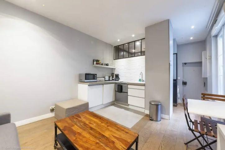 Vente appartement Paris 6ème 414000€ - Photo 1