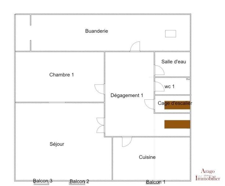 Vente maison / villa Rivesaltes 163200€ - Photo 7