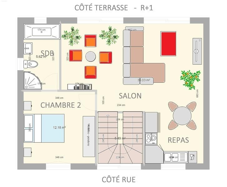 Vente maison / villa Angouleme 137800€ - Photo 3