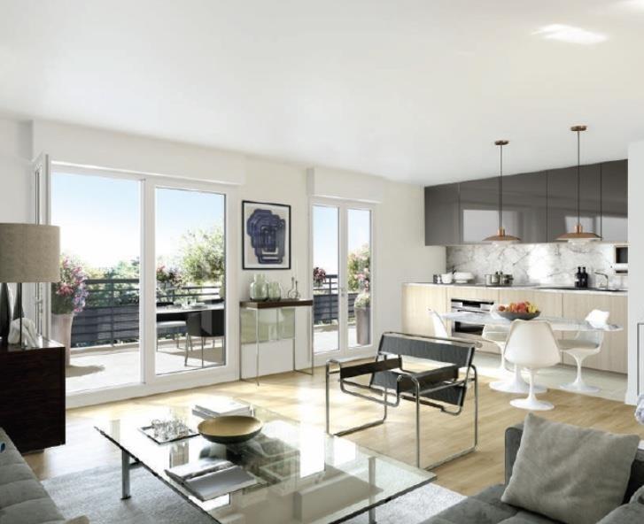 Sale apartment St cyr l ecole 479100€ - Picture 2