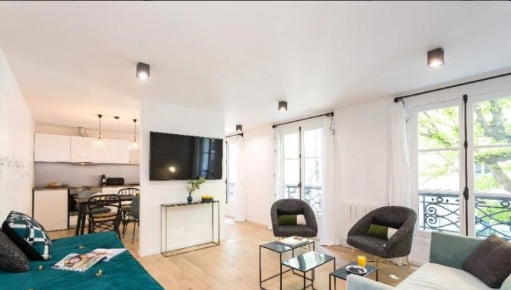 Vente appartement Paris 17ème 860 000€ - Photo 1
