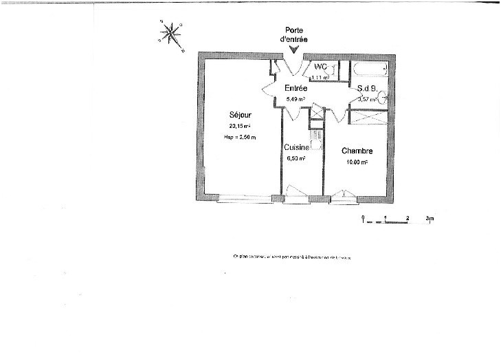 Location appartement Levallois perret 1350€ CC - Photo 6