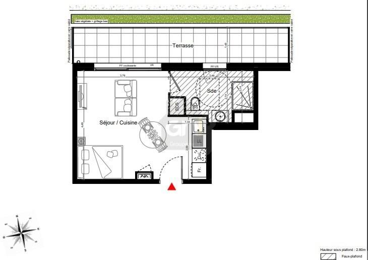 Vente appartement Marseille 8ème 187000€ - Photo 3
