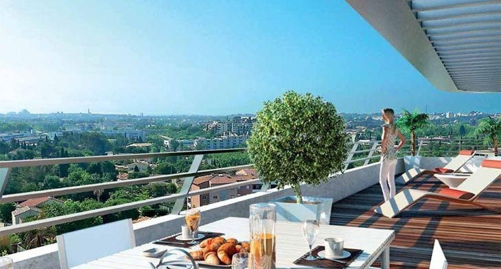 Vente de prestige appartement Montpellier 450 000€ - Photo 2