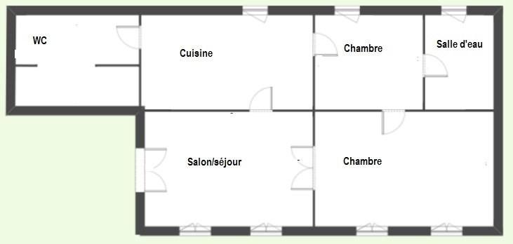 Location appartement Agen 510€ CC - Photo 3