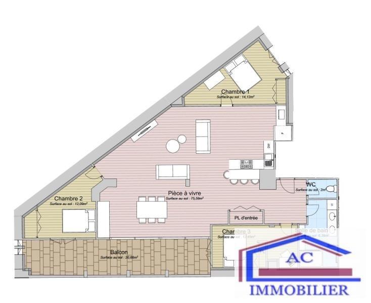 Vente loft/atelier/surface St etienne 106000€ - Photo 2