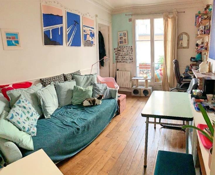 Vente appartement Paris 11ème 424000€ - Photo 1
