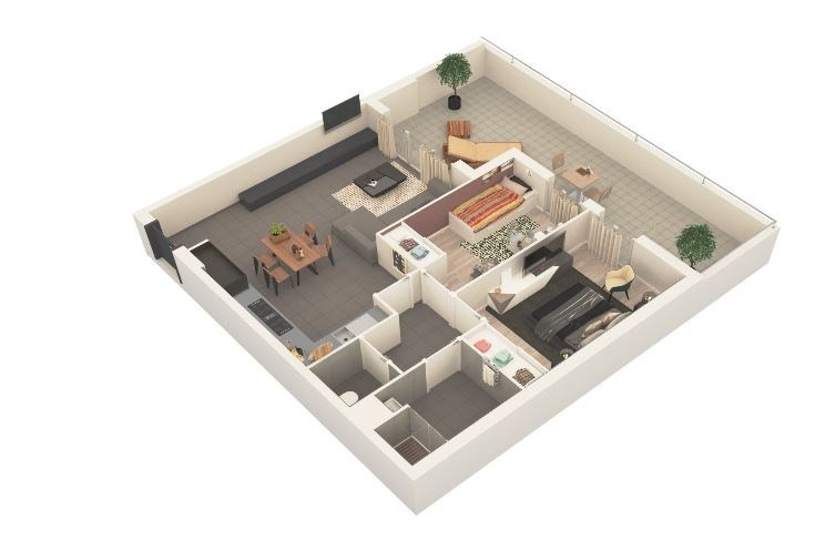 Produit d'investissement appartement Ajaccio 216000€ - Photo 1