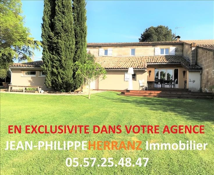 Vente maison / villa Les artigues de lussac 399 000€ - Photo 1