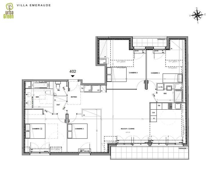 Revenda residencial de prestígio apartamento Dinard 610000€ - Fotografia 3