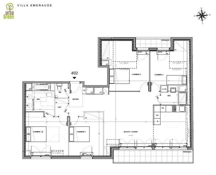 Vente de prestige appartement Dinard 610000€ - Photo 3