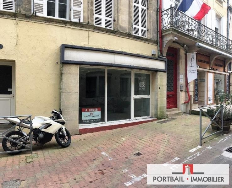 Location local commercial Blaye 380€ HT/HC - Photo 1