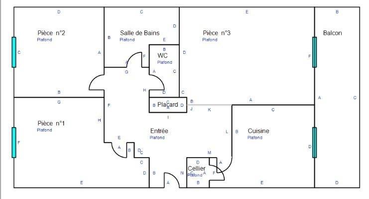 Venta  apartamento St die des vosges 65000€ - Fotografía 8