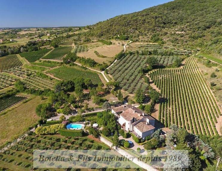 Vente de prestige maison / villa Barjac 1270000€ - Photo 1