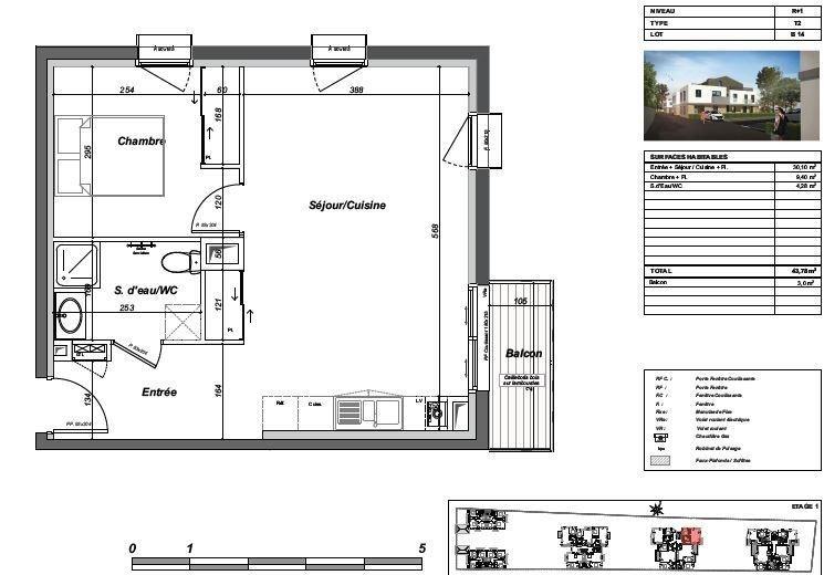 Sale apartment Le bouscat 239000€ - Picture 3