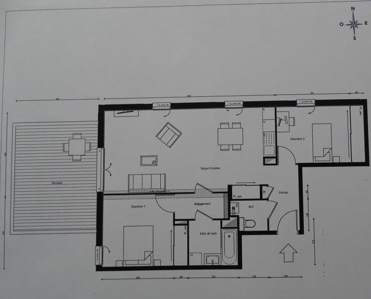 Investimento apartamento Lyon 5ème 397700€ - Fotografia 3