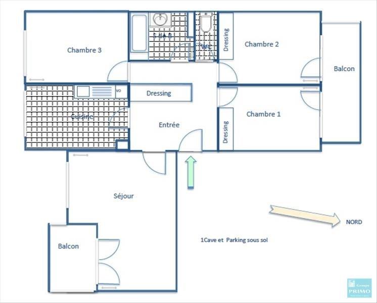 Location appartement Chatenay malabry 1198€ CC - Photo 2