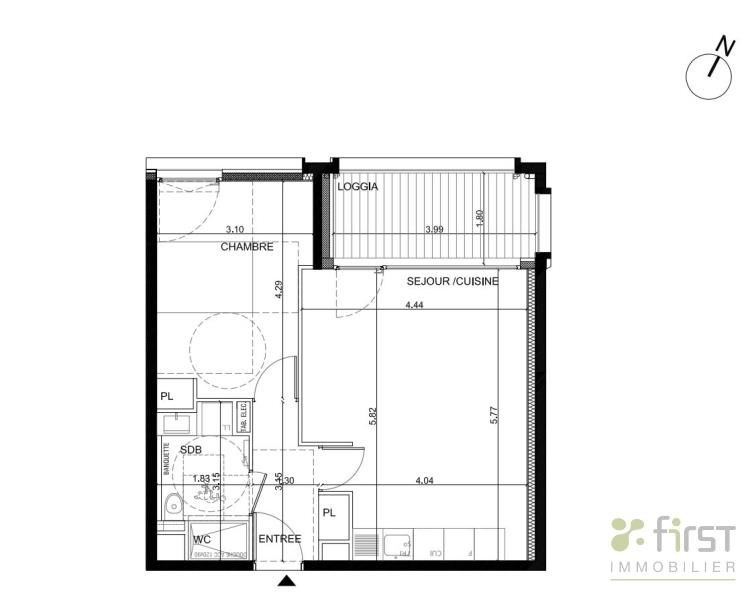 Vendita appartamento Annemasse 201500€ - Fotografia 2