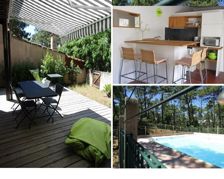 Vermietung von ferienwohnung haus Lacanau-ocean 410€ - Fotografie 1