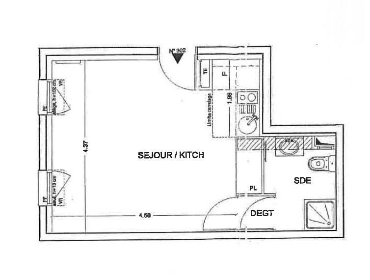 Location appartement Creteil 637€ CC - Photo 4