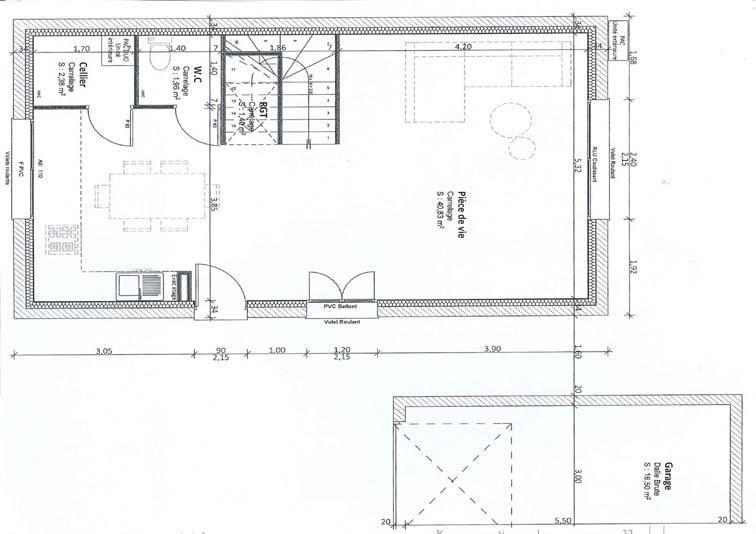 Vente maison / villa Chavanoz 240000€ - Photo 2
