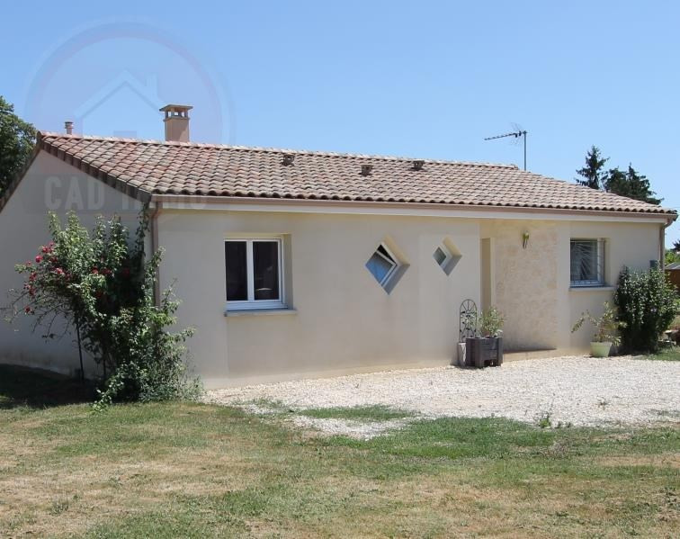 Vente maison / villa Lamonzie saint martin 168000€ - Photo 1