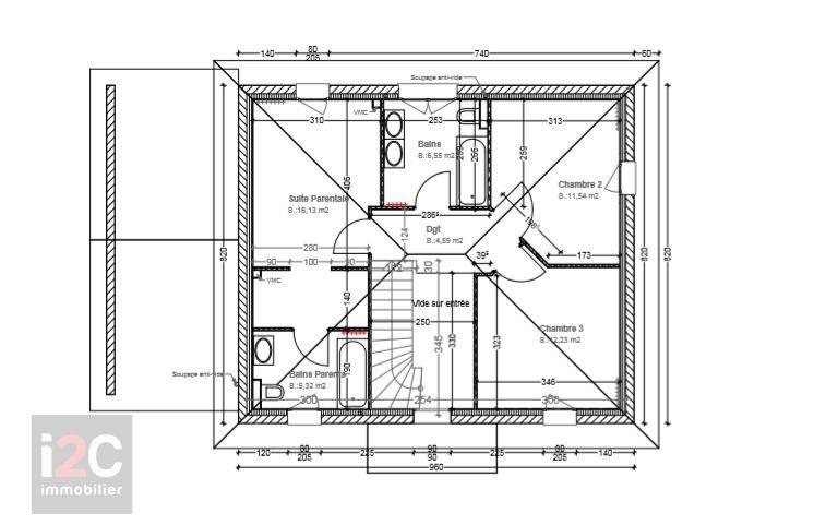 Vendita casa Peron 447000€ - Fotografia 3