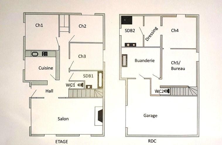 Rental house / villa Marcy l etoile 1800€ CC - Picture 9