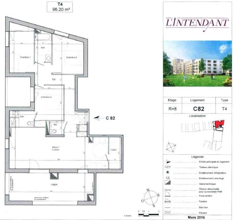 Location appartement Bordeaux 1070€ CC - Photo 1