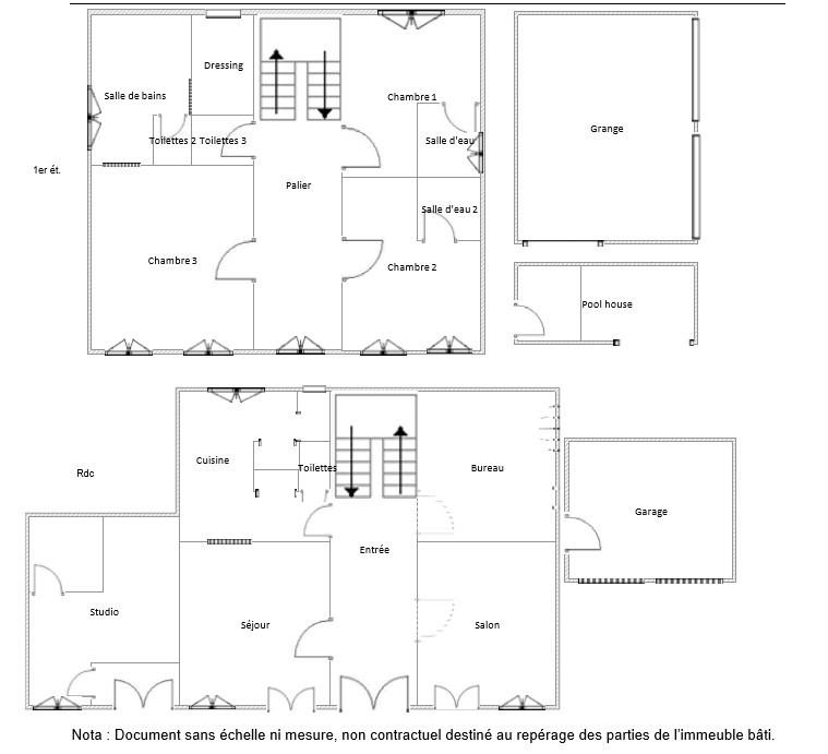 Sale house / villa Samatan 585000€ - Picture 2