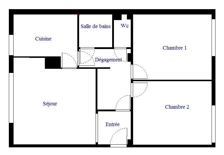 Vente appartement Vanves 405600€ - Photo 8